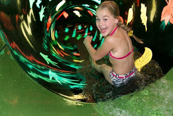 Waterglijbaan | Badepark Bentheim | Ferienresort Bad Bentheim