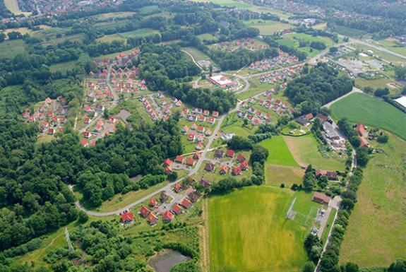 Luchtfoto | Ferienresort Bad Bentheim