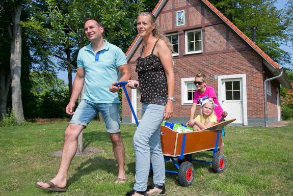 Familie bij de accommodatie | Ferienresort Bad Bentheim